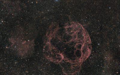 Spaghetti nebula